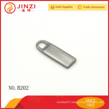 Wholesale zinc alloy decorative zipper pulls