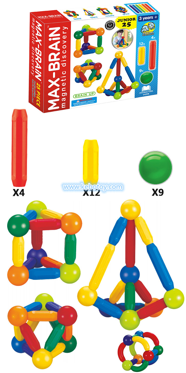 KBB-25 magnetic sticks and balls toys
