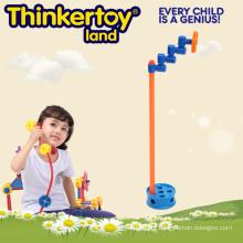 Inteligência brinquedo de plástico microfone para crianças