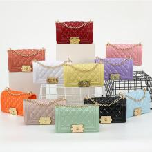 New arrivals ladies pvc crossbody bags luxury designer mini jelly purses womens purses and handbags