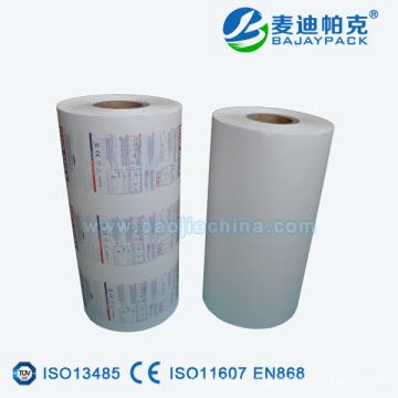 Pharmaceutical medication blister packaging for syringe sterilization