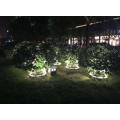 Lámpara de sujeción de árbol de columna profesional popular al aire libre