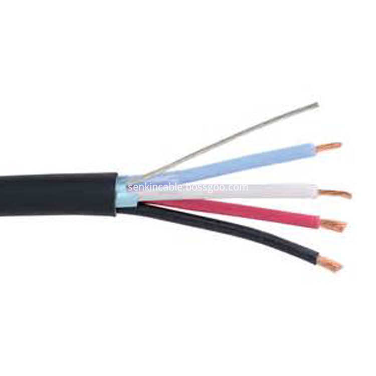 Flexible Copper Conductor Rubber Cable