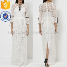 Белое кружево вечернее платье Производство Оптовая продажа женской одежды (TA4060D)