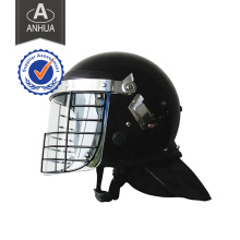 Military Anti-Riot Helmet with Net Visor