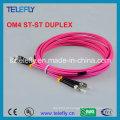 St Om4 Duplex Fibra Óptica Jumper, Jumper Cable