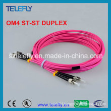 St Om4 Duplex Fiber Optic Jumper, Jumper Cable