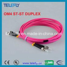 Дублированная оптоволоконная перемычка St Om4, соединительный кабель