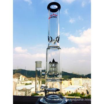 Atacado Rocket Perc Glass Water Pipe