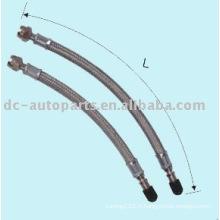 Rallonge de tuyau en caoutchouc avec métal à mailles fines toute la longueur disponible