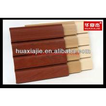 Painel de slatwall PVC painel de parede fácil