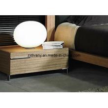Tika Möbel modernes Schlafzimmer aus Holz Nachttisch (MZ-B0205)