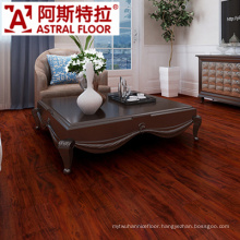 Single Click System 12mm Red Color Laminated Flooring