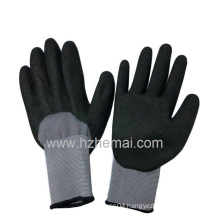 15gauge Spandex Half Dipped Sandy Nitrile Gloves Gripper Work Glove