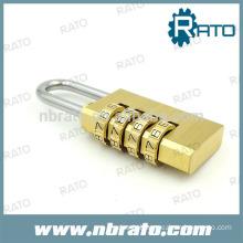 solid brass 4 Digit padlock