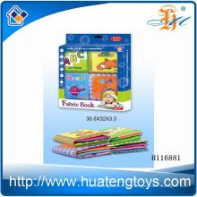 Großhandel pädagogischen Baby weichen Tuch Buch für Bett umgeben H116881