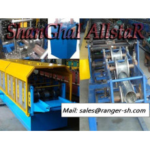 Shanghai Allstar square downspout roll forming machine / forming machine /downspout machine for sale