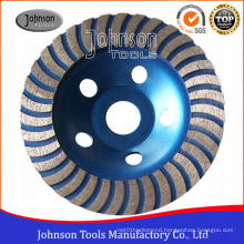 Od100-180mm Diamond Turbo Cup Wheel for Grinding Stone