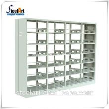 nouvelles dimensions d'étagère de bibliothèque en acier