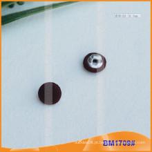 Tecido coberto botão Shank BM1709