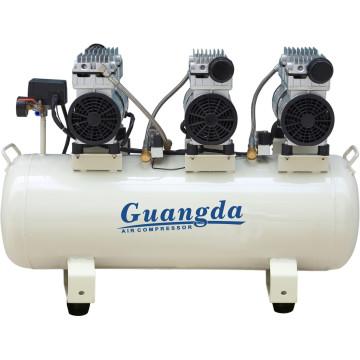 90L 850W*3 Oil Free Air Compressor Dental Machine