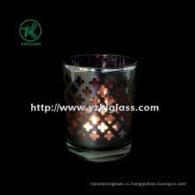 Цветные двойные настенные стеклянные подсвечники от SGS (KLB100408-29)