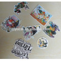 customized waterproof die cut stickers