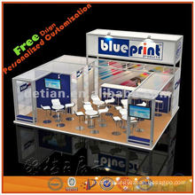 3x9 trade show display design exported factory in Shanghai