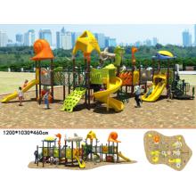 Outdoor Playground Equipment Kindergarten Kids Plastic Slide (BH00301)
