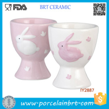 Großhandel Osterhase Keramik Eierbecher für Childern