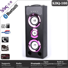 Portable 25W Golden basses great sound battery 3000mAh speaker with bluetooth