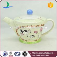 Estilo simples rali decalque de chá de cerâmica para casa