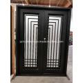Популярные элегантный дизайн стальных дверей для роскошного дома