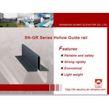 Guía de fabricantes de carril carril /Hollow guía / carril guía para ascensor / elevador