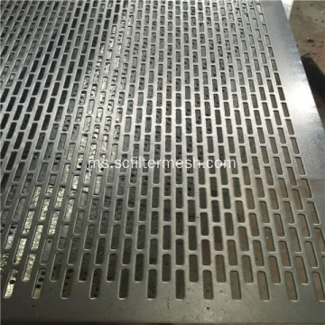 Aluminium Punched Metal Screens Mesh Metal Perforated