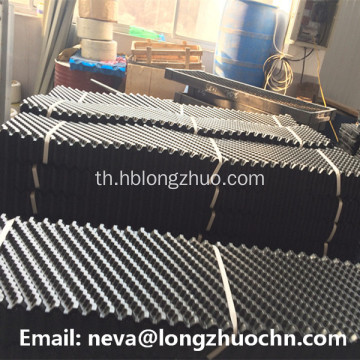 Cross Fluted Counter Flow PVC Cooling Tower Fill Pack