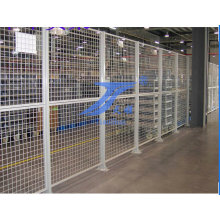 High Quality &Powder Coated Warehouse Wire Mesh Fence