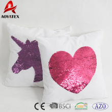 2018 nice sequins design home decorative cushion,chair and sofa cushions