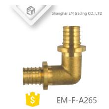 EM-F-A265 Latão macho dente circular união dupla cotovelo de diâmetro diferente