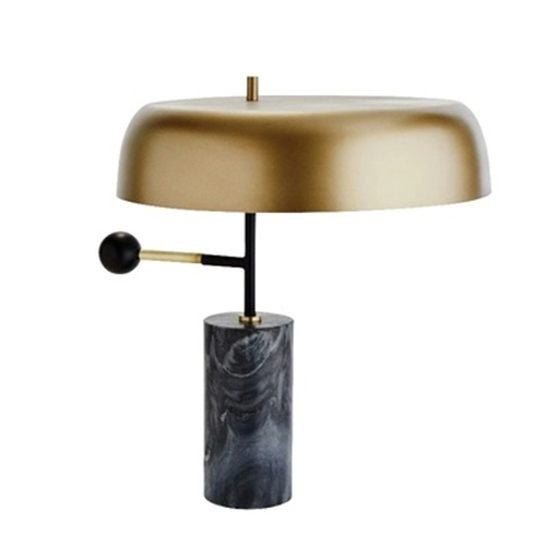 Tall Side Metal Table Lamps