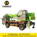 Truck With Crane 8 Ton Block Crane