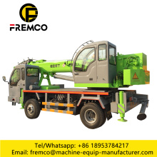 Truck With Crane 8 Ton Block Crane