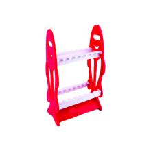 Estante de exhibición de la barra de pesca del ABS del color de encargo FSRK001