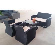 Wicker Outdoor / Gartenmöbel - Sofa-Set