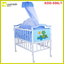 New model design blue pink brown crib mosquito nets