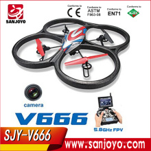 Quadcopter / Drone Ready To Fly with HD Camera - V666 RC Helicopter