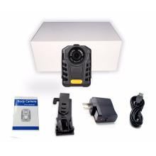 Mehrsprachige 1080P Polizei tragbare Körper Kamera IR Nachtsicht Ambarella A7 Polizei Pocket Videokamera