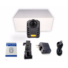 Multi-language 1080P Police Wearable Body Camera IR Night Vision Ambarella A7 Police Pocket Video Camera