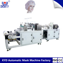 Máquina descartável para touca de banho de material não tecido