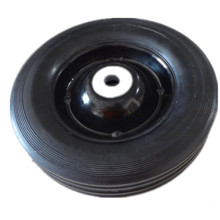 200 Mm Solid Rubber Wheel with 16 Mm Inside Bearing